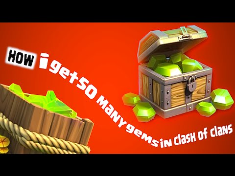 Clash Of Clans - How I Get So Many Gems