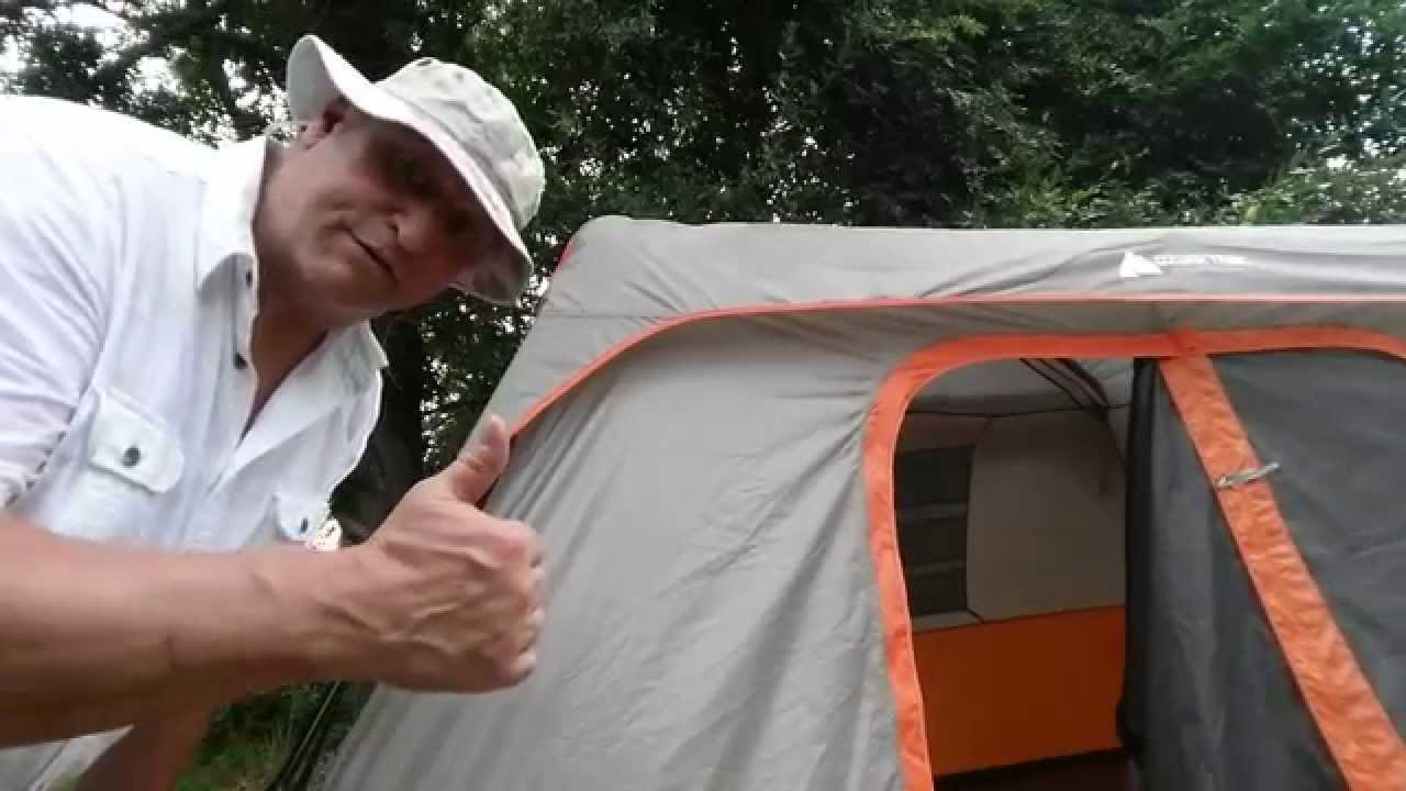 sc 1 st  YouTube & Ozark trails 8 person cabin Tent review Eagle Jon - YouTube