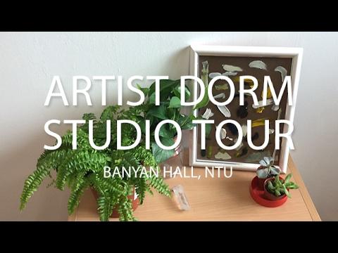 Artist Dorm Studio Tour | NTU Banyan Hall, Singapore.