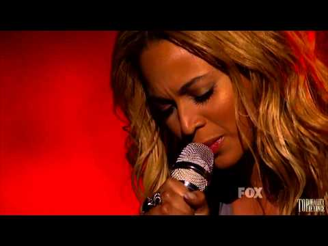 One Plus One  Beyonce American Idol Finale Performance