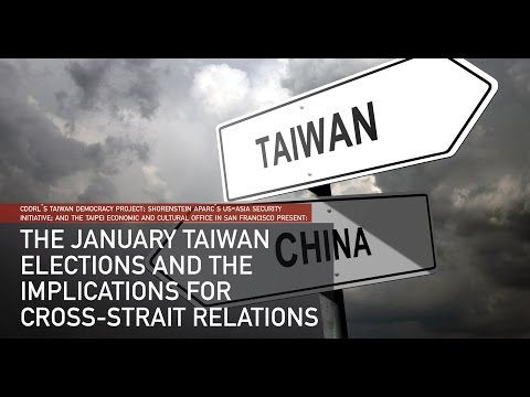 The January Taiwan Elections and the Implications for Cross-Strait Relations