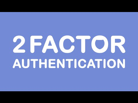 Internet Is Scary (Two-Factor Authentication)