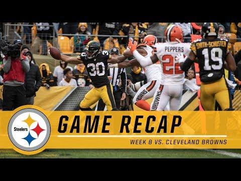 Week 8: Pittsburgh Steelers vs. Cleveland Browns | Game Recap