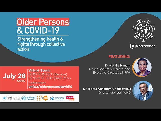 Older Persons & COVID-19: Strengthening rights and health through collective action