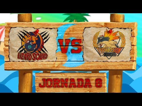LCE Pokémon SL [Liga Luna] - ¡Lizard Squad VS Typhlosion Knights! - Jorn 8