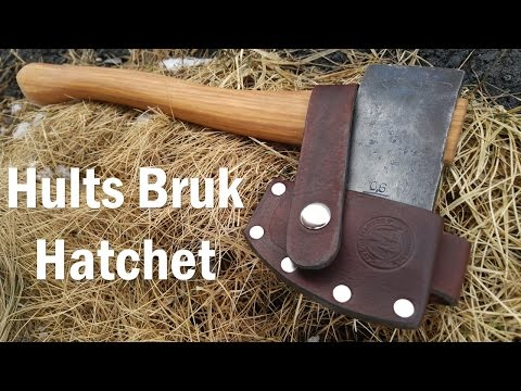 FOR SALE: Restored Hults Bruk Hatchet - Custom Belt Carry Sheath [SOLD]