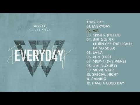 [Full Album] WINNER – EVERYD4Y + DOWNLOAD ALBUM