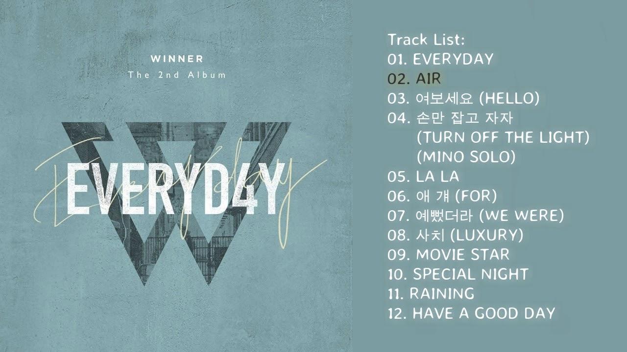 Full Album Winner Everyd4y Download Album Youtube