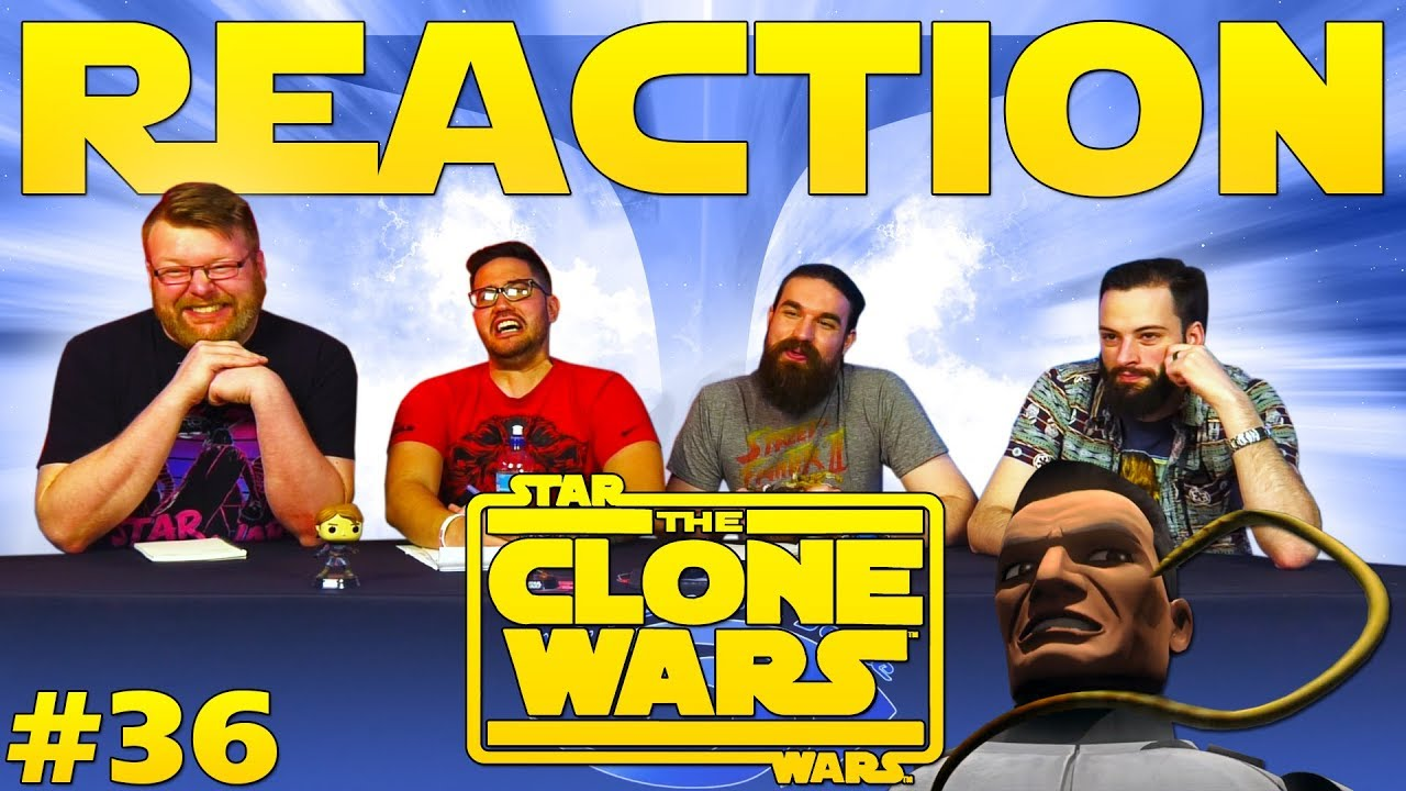 Star Wars: The Clone Wars #36 REACTION!!