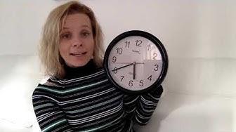 Mitä kello on? Paljonko kello on?