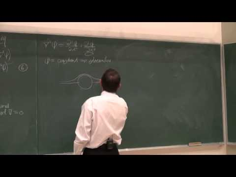 Lecture 05 (2013). 4.7 Stream function. Differential relationships for fluid flow