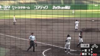 2017 06 08ナイター記念試合岡山一宮vs岡山朝日