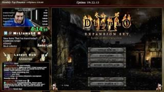 Diablo 2 - Getting back into WR Speedrun Attempt running!