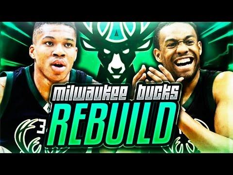 REBUILDING THE MILWAUKEE BUCKS! NBA 2K17 MY LEAGUE!