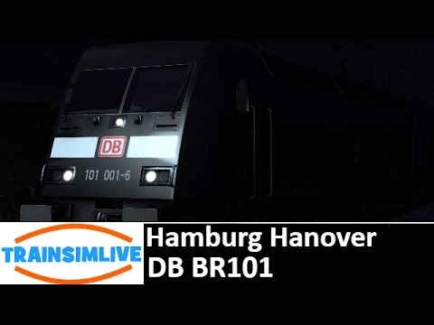 Let's Play Train Simulator - Hamburg Hanover, BR101
