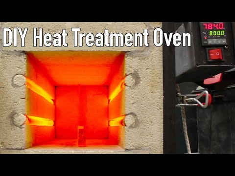 How to Make a Large Heat Treatment Oven - Pt.1