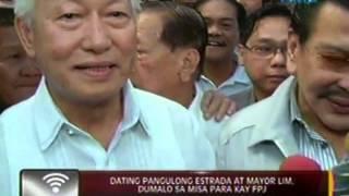24 Oras: Ika-walong death anniversary ni FPJ, ginugunita ngayong araw