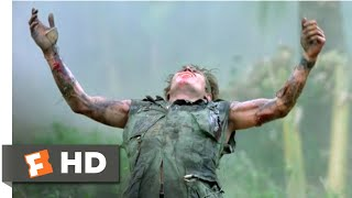 Platoon (1986) - The Death of Sgt. Elias Scene (7/10) | Movieclips