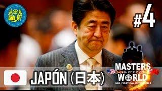 """Masters of the World - Geopolitical Simulator 3 - Japón 04 """"Escándalo"""""""