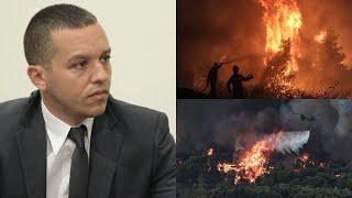 Κασιδιάρης: Πάω στον εισαγγελέα τον Μητσοτάκη για τις πυρκαγιές! - YouTube