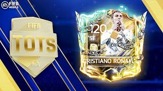 HOW TO UNLOCK 97 RATED uTOTS RONALDO!!! RANK UP!!! FIFA MOBILE