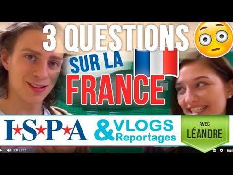 Les américains posent des questions sur la FRANCE - Léandre ISPA