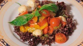 Салат Итальяно. Рецепт от шеф-повара.