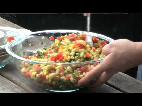 Summer Grilled Corn Salad- Chef Ryan