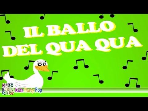 Canzoni Per Bambini Il Ballo Del Qua Qua Youtube