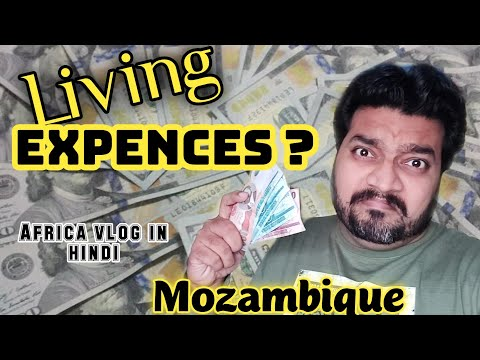 Living Expenses In  Mozambique Maputo city | Africa Mozambique Hindi vlog