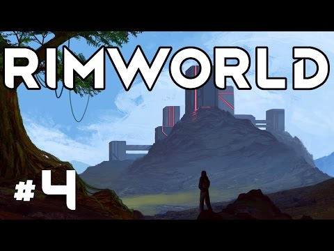 RimWorld Alpha 16 - Ep. 4 - Cropland and Better Bedrooms! - Let's Play RimWorld Alpha 16 Gameplay