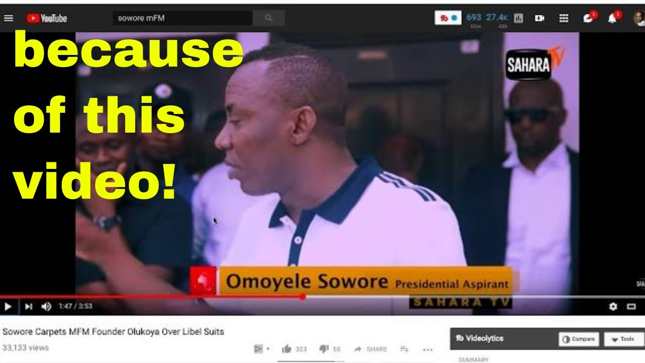 Breaking News Sowore In Huge Trouble As Mfm Pastor Does This