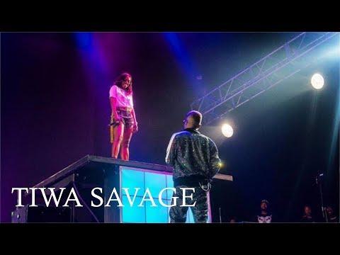 TIWA SAVAGE SPLENDID PERFORMANCE @ WIZKID AFRO REPUBLIK CONCERT, 02 LONDON