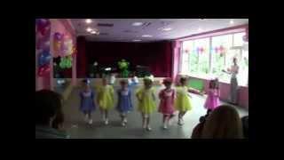 Урок хореографии для детей 4 года DanZ Art