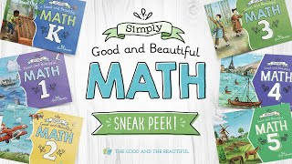 *SNEAK PEEK* Simply Good and Beautiful Math | Available Summer 2021 | The Good and the Beautiful