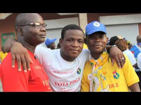 Equatorial Guinea Political Parties Campaign for Elections 2013