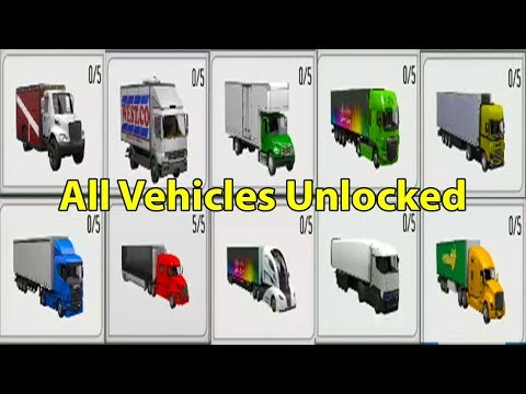 Delivery Truck Driver Simulator Full Game All Vehicles & All Levels Unlocked Android Gameplay 2018