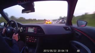 Seat Leon Cupra (280 hp) vs Renault Megane RS (265 hp)