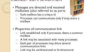 MODULE 7 - VIĎEO 1 - Interprocess communication (IPC)