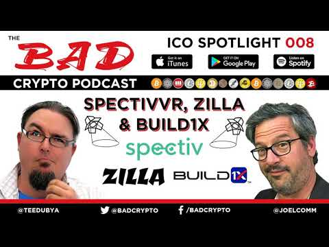 ICO Spotlight #8 - Zilla, SpectivVR, Build1X