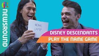 Disney Descendants Cast Name Game Challenge Part 1