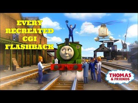 Recreated CGI Flashbacks | Thomas and Friends