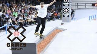 Lacey Baker wins Women's Skateboard Street silver   X Games Norway 2018