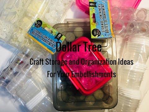 Dollar Tree Craft Organization 12 Storage Ideas On A Budget