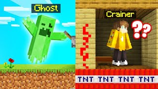 TROLLING My FRIEND As A GHOST! (Minecraft)