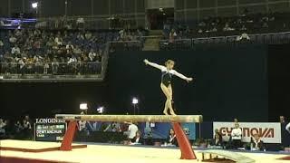 Yana Demyanchuk (UKR) Balance Beam Qualifications 2009 London World Championships