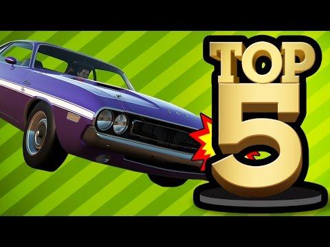 TOP 5 CARS IN GAMING