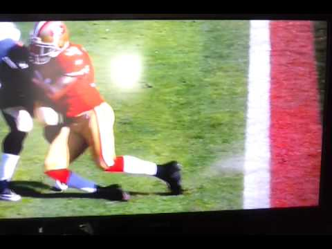 Donte whitner knocks out Pierre thomas 2012