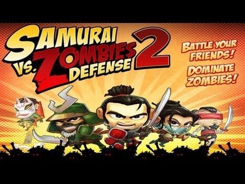 Samurai vs Zombies Defense 2 - (by Glu Games Inc.) - Universal - HD Gameplay Trailer
