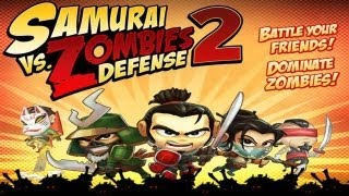 samurai vs zombies defense 2 universal hd gameplay trailer